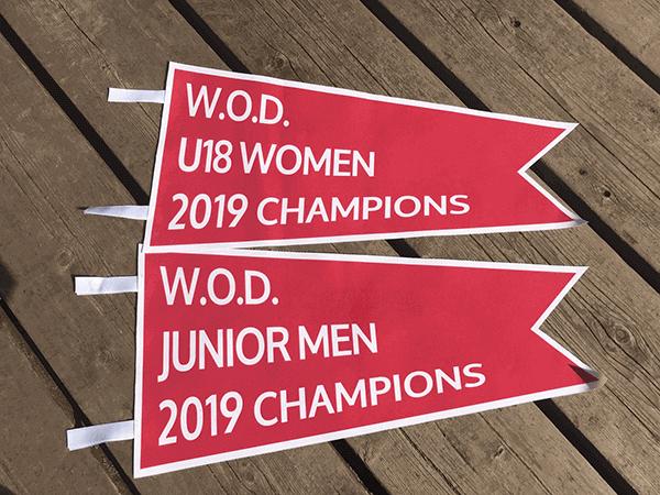 WOD 2019 burgee - RHCC