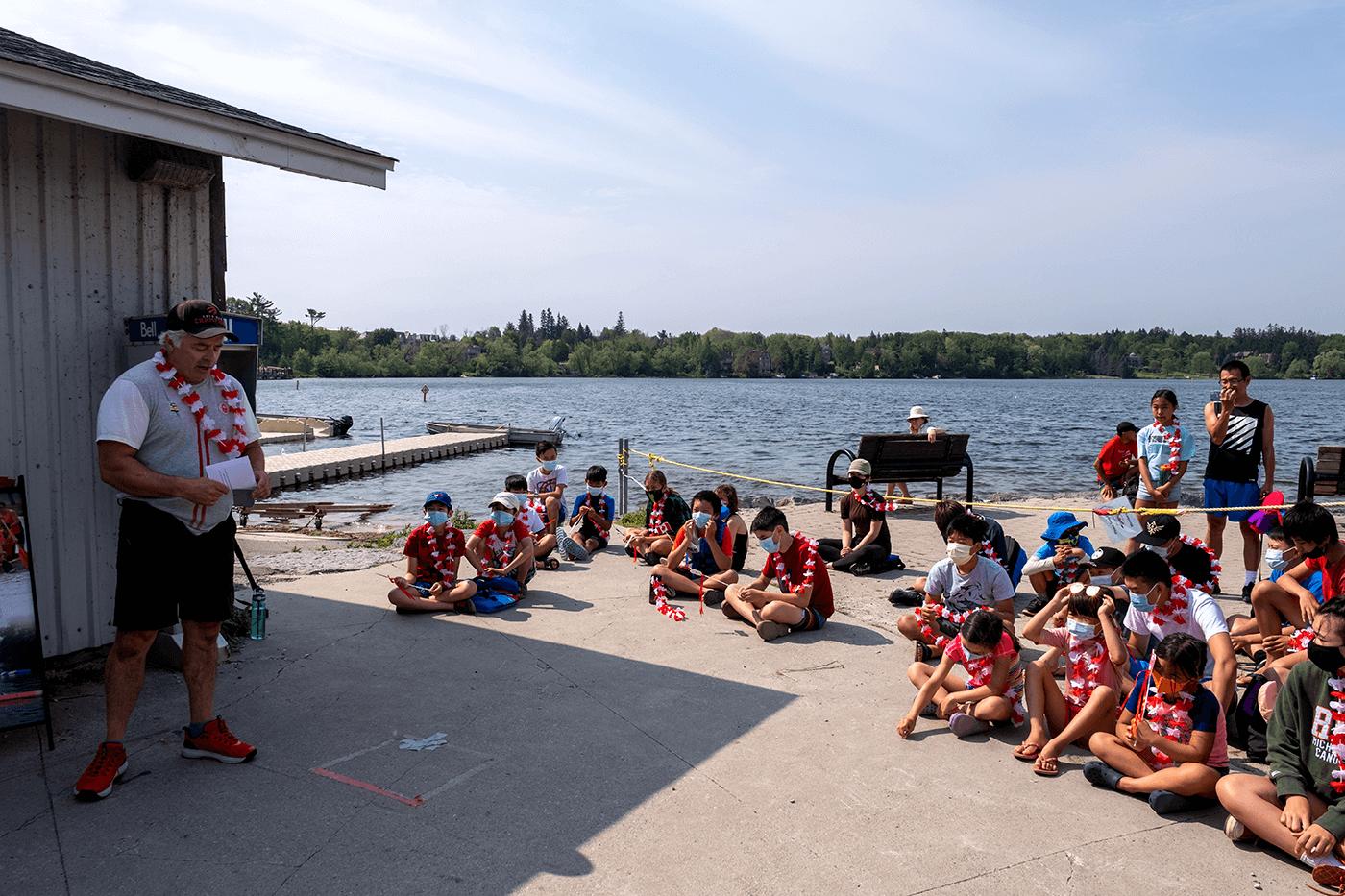 Roland Varga - an Olympic send-off from RHCC 3