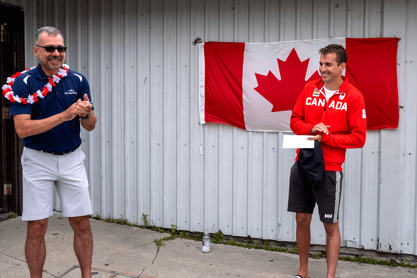Roland Varga - an Olympic send-off from RHCC 6